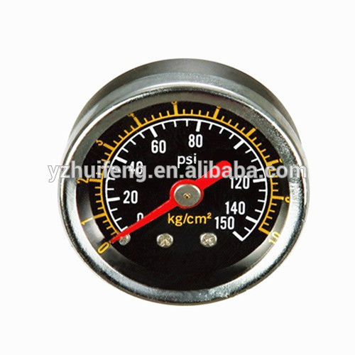 HF Dry Manometer 63mm Standard Type 0-160psi/1000kPa Air Pressure Gauge