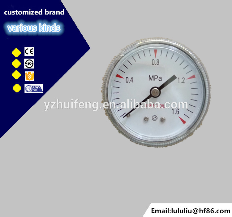 HF cheap use no oil oxygen pressure reducer valve gauge
