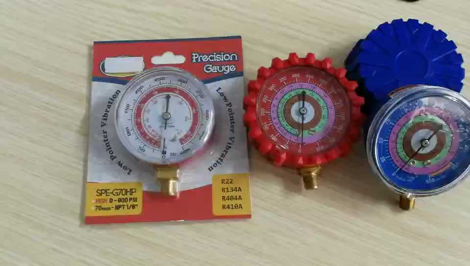 HF Refrigerant Low and High Pressure Gauges for Air Conditioner R410A R134A R22