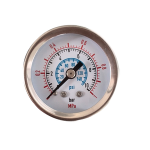"HF 1.5"" 40mm 1mpa/10bar pressure gauge used for Pneumatic Valve Positioner"