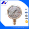 HF Precise Full Stainless Steel 0-230psi/15bar Glycerine Filled Pressure Gauge EN837-1 Manometer
